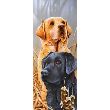 Hunting Dogs (20 x 50 actual picture size)
