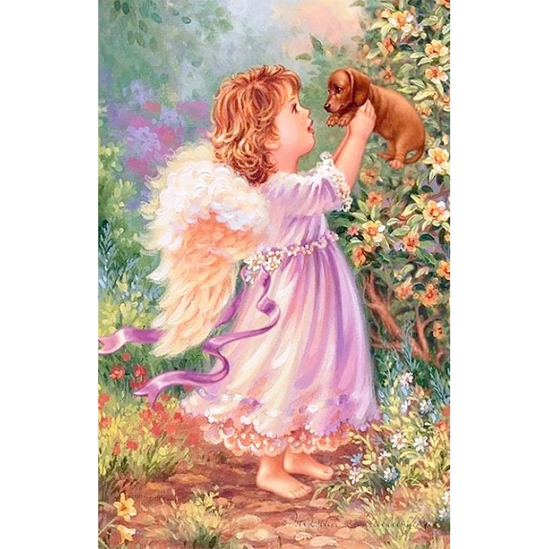Angel And The Puppy ...