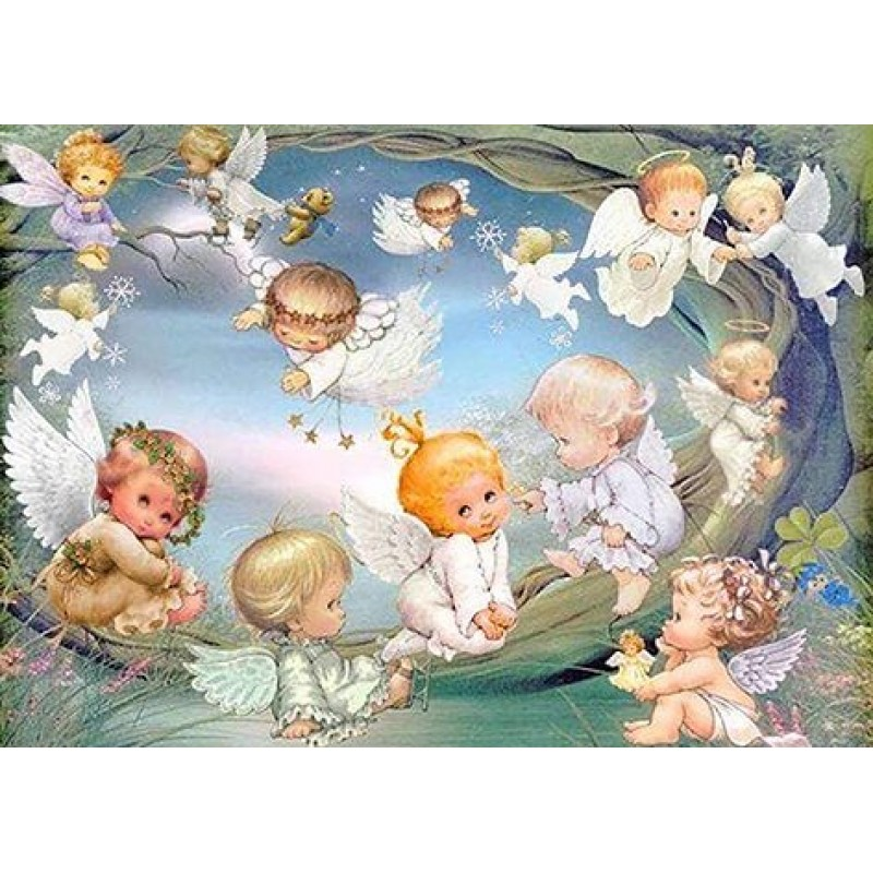 Angels Playing (50 x...