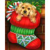Christmas Stocking (40 x 50 actual picture size)