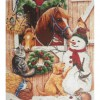 Christmas On The Farm (45 x 50 picture size)
