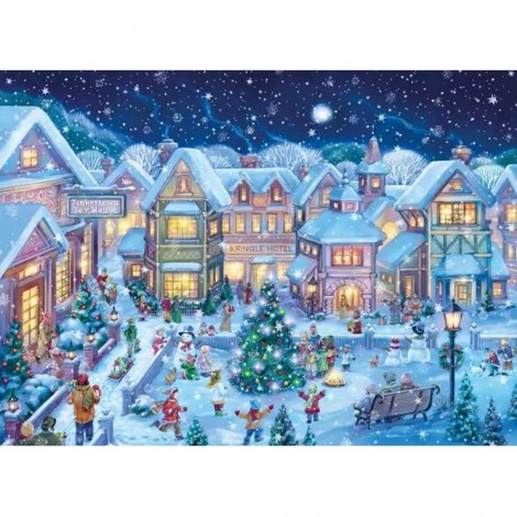 Christmas In The Square (50 x 68 picture size)